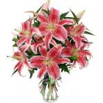 Buchet crini imperialI roz