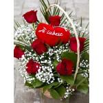 basket of roses DARIA